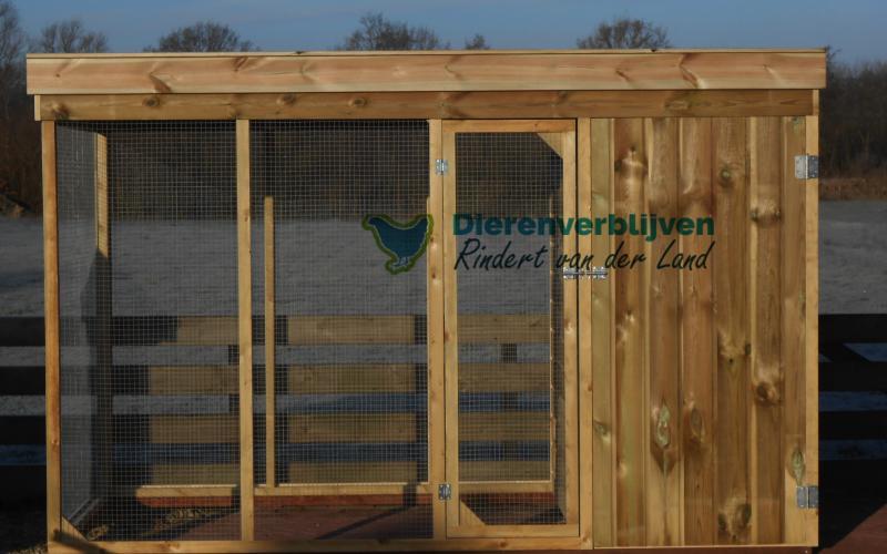 Kippenhok Leeuwarden type H Kwaliteits dierenverblijven van der Land