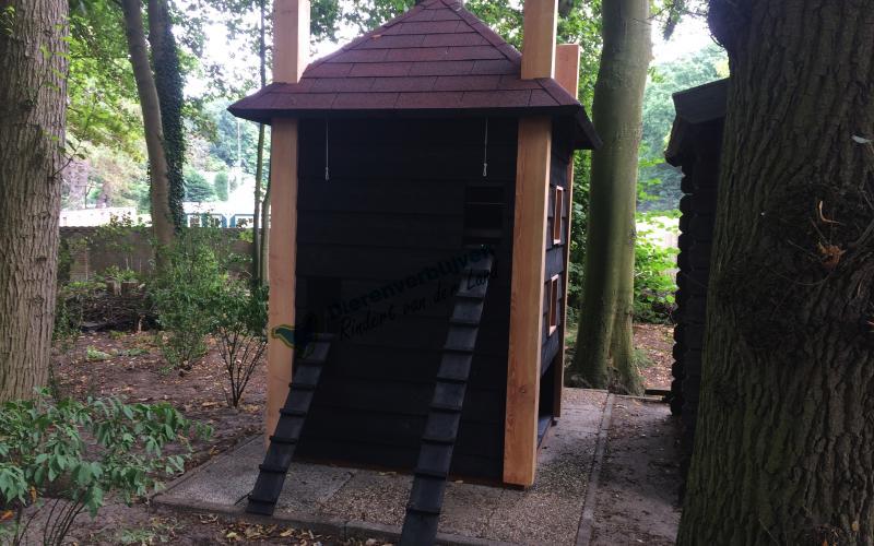 Kippenhok Hooiberg flat type A Kwaliteits dierenverblijven van der Land