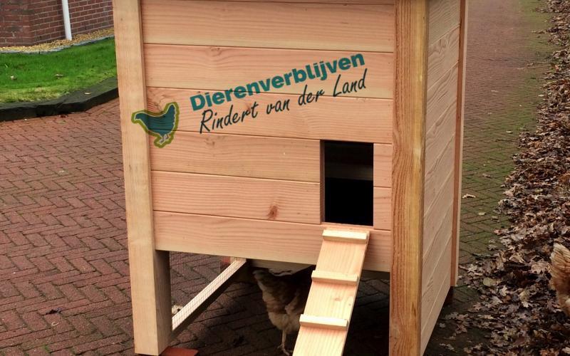 Kippenhok Hooiberg type C Kwaliteits dierenverblijven van der Land