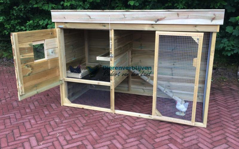 Kippenhok Leeuwarden type A Kwaliteits dierenverblijven van der Land