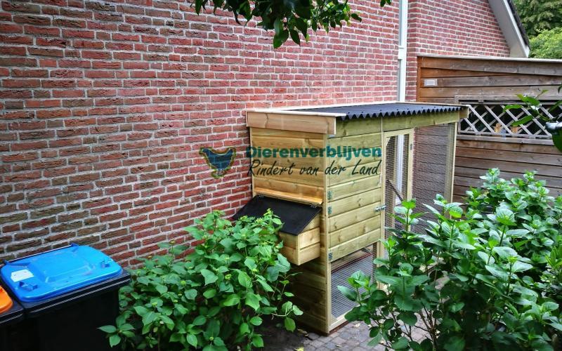 Kippenhok Leeuwarden flat type A Kwaliteits dierenverblijven van der Land