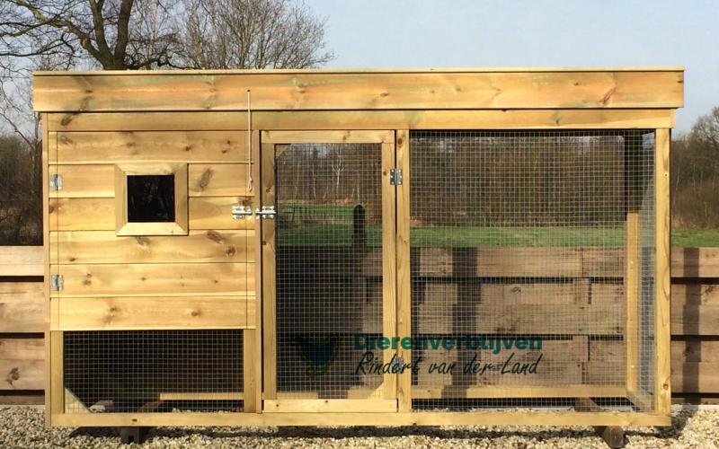 Kippenhok Leeuwarden type B Kwaliteits dierenverblijven van der Land